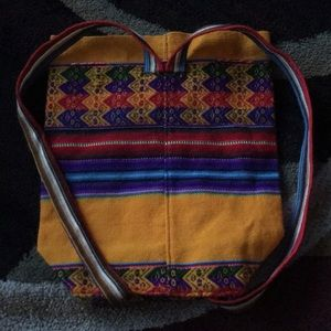 Bags - Small handmade fabric backpack